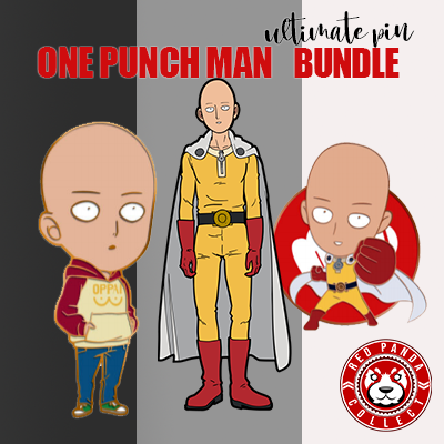 One Punch Man Pin Club x FiGPiN Bundle