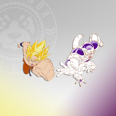 Pin Club: Super Saiyan Goku and Frieza (2-pk)