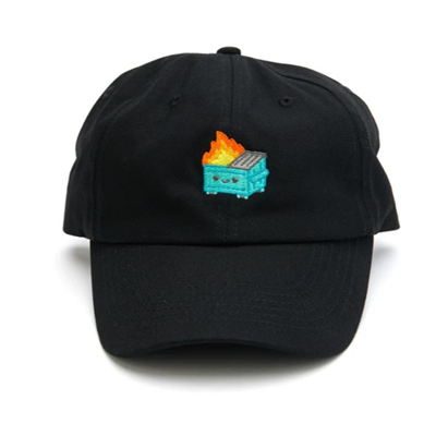 100% Soft - Dumpster Fire Dad Hat