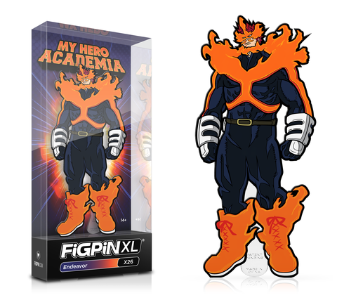 FiGPiN XL: My Hero Academia - Endeavor #X26