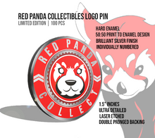 Load image into Gallery viewer, Red Panda Collectibles Logo Pin