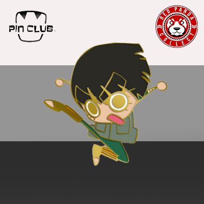 Pin Club: Naruto - SD Gold Rock Lee Pin