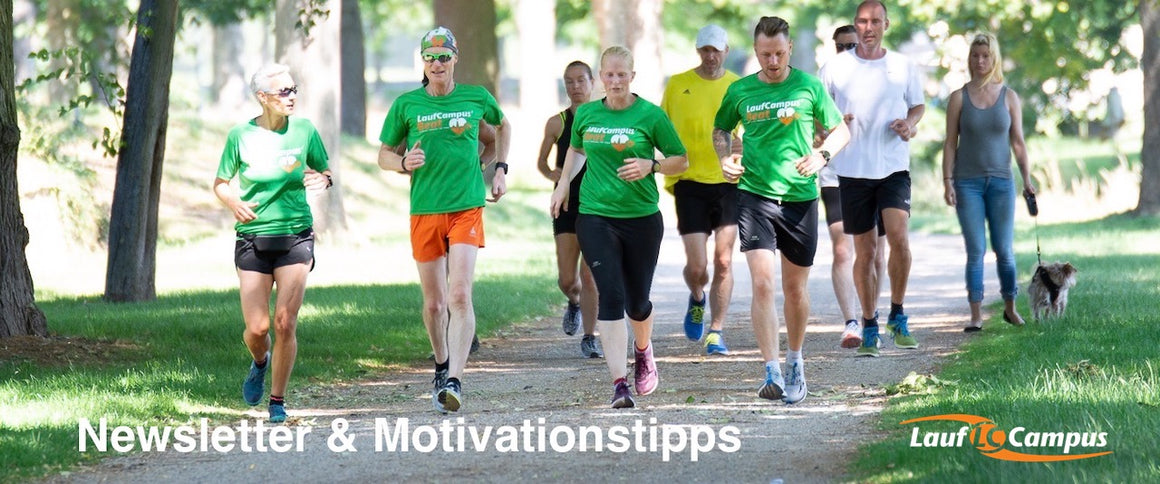 Laufcampus Newsletter & Motivationstipp