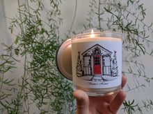 Load image into Gallery viewer, Santa's House Candle collaboration with PGH Candle Works