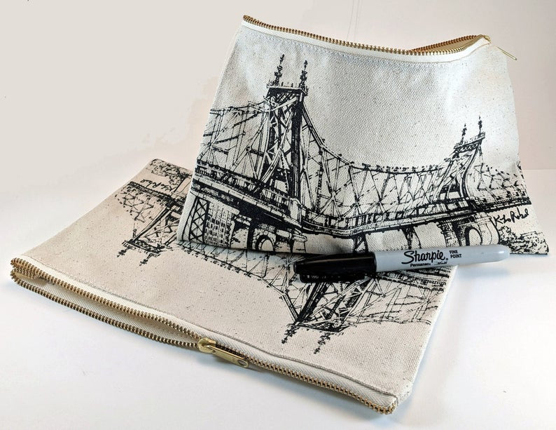 Queensboro Bridge Pouch