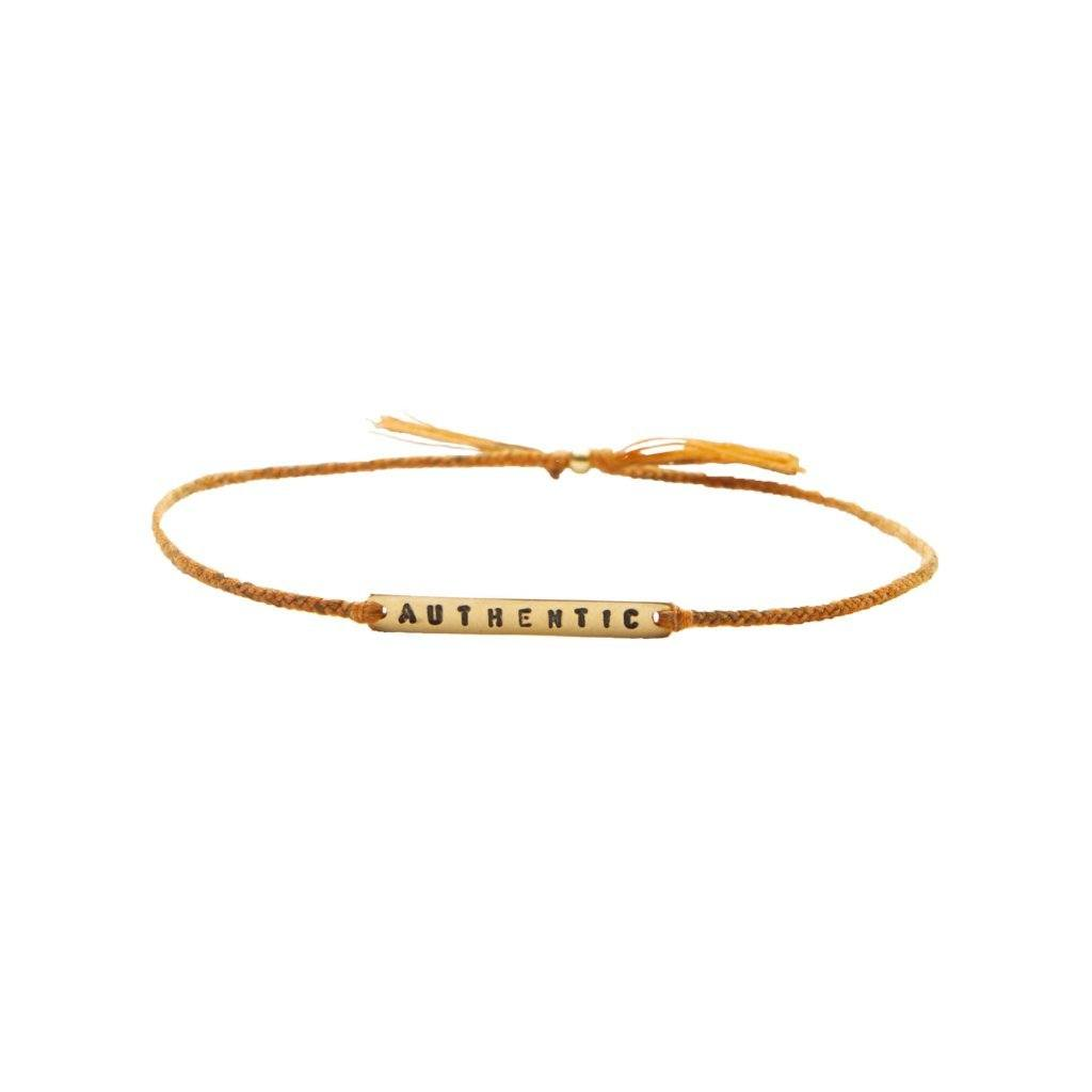 Authentic mustard mix gold bracelet from santai.no