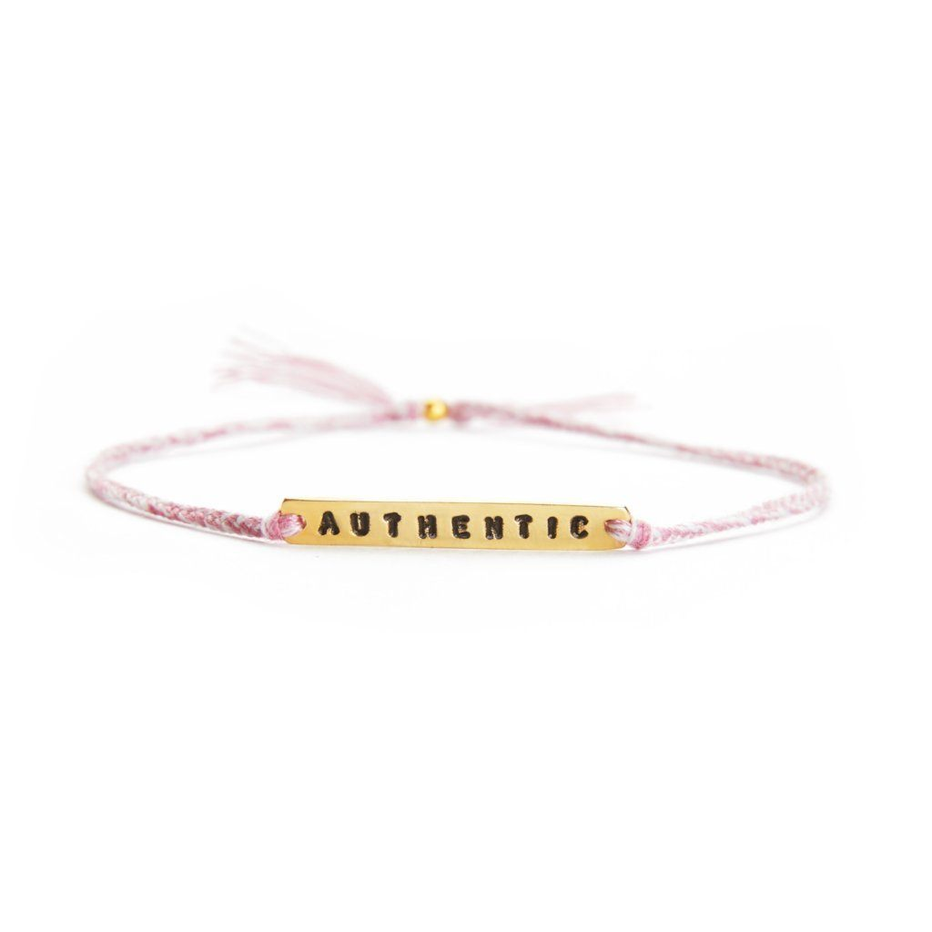 Authentic pink mix gold bracelet from santai.no