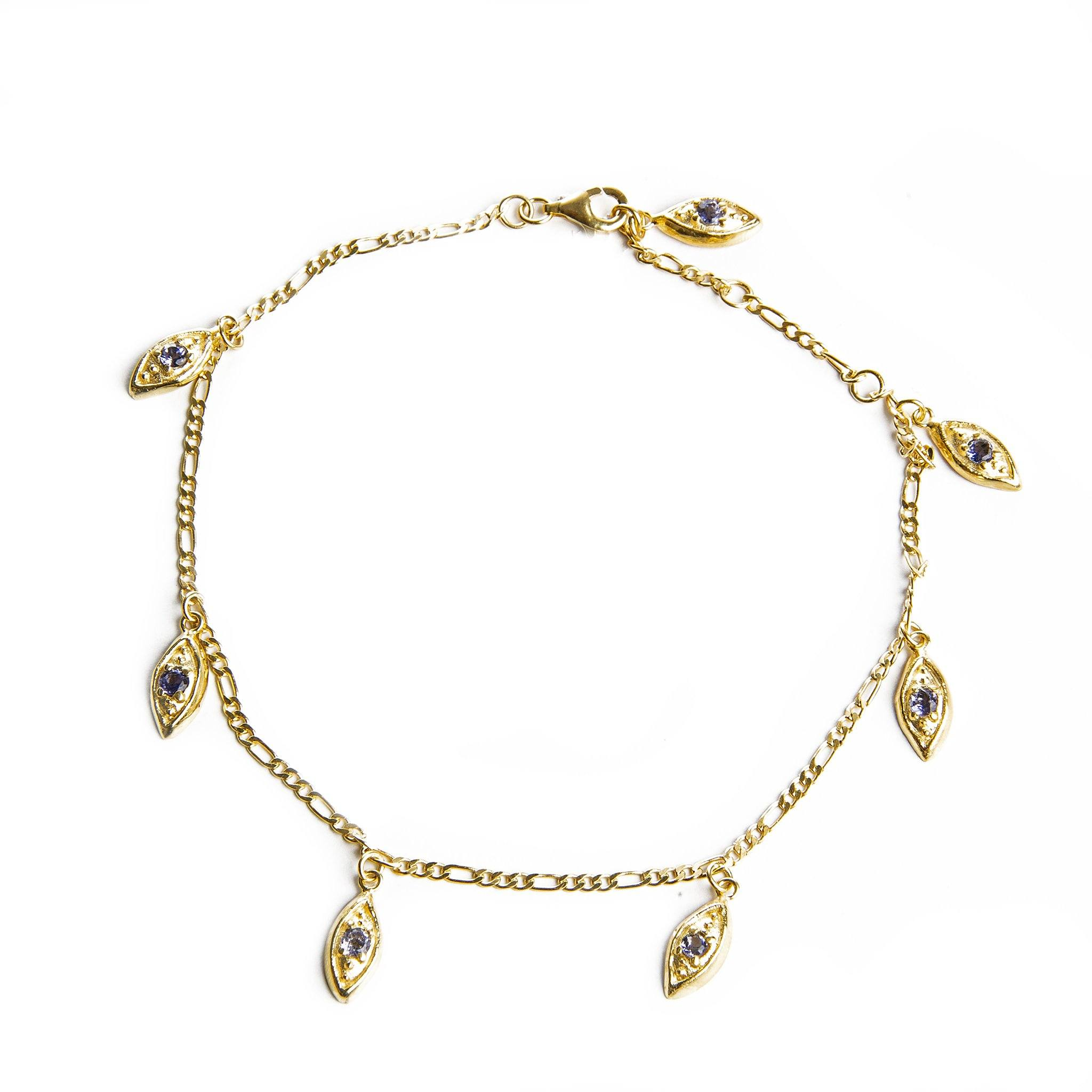 EYE CHARMS anklet