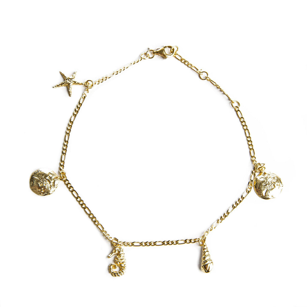 SUMMER CHARMS anklet