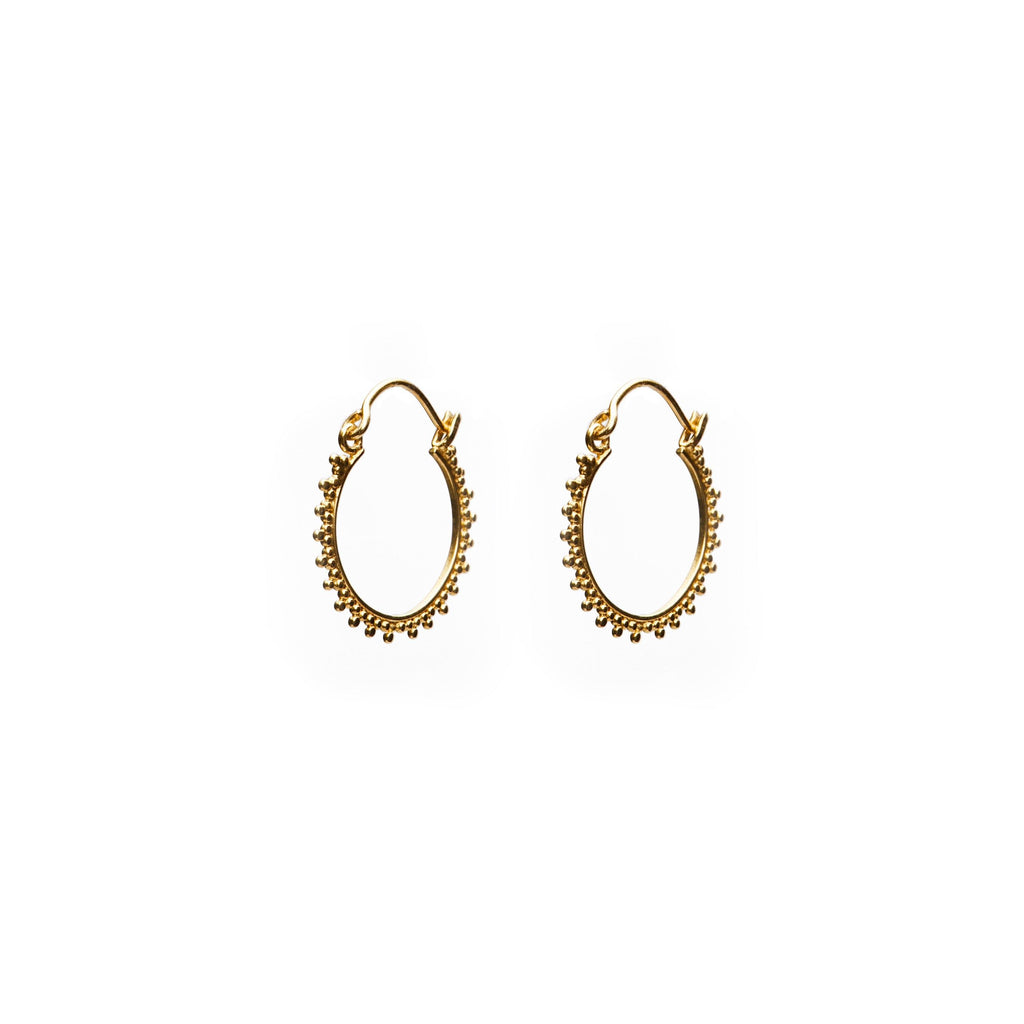 New Dehli earring earring gold-plated from Bali