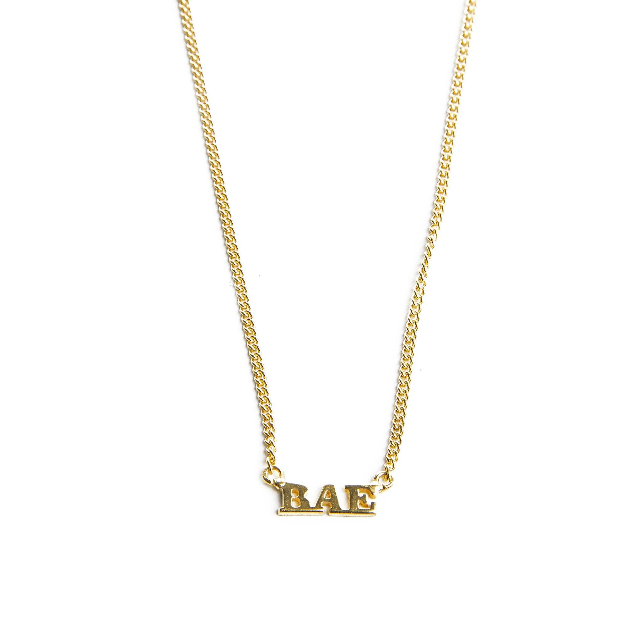 BAE necklace