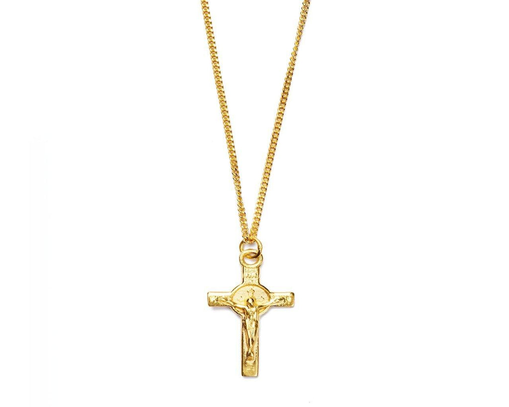 Cross necklace small