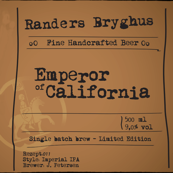 Emperor of California 9% 20L