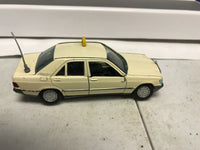 Vintage Gama Mini Mercedes Benz 190E Taxi Cab Rare Western Germany