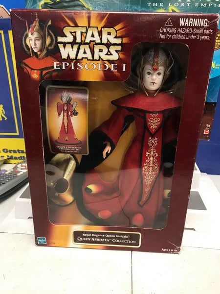 1998 Star Wars Episode 1 Royal Elegance Queen Amidala Collection NIP