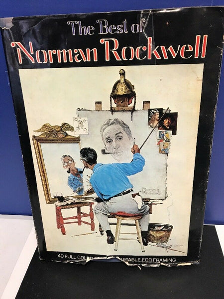 THE BEST OF NORMAN ROCKWELL, Michael Schau, HB DJ Folio Size, 1979