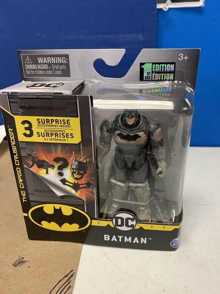 Spin Master DC The Caped Crusader Batman Rebirth Tactical Action Figure