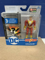 Spin Master DC Heroes Unite 4 Inch Action Figure SHAZAM! 1st Edition New Sealed