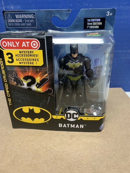 "Spin Master DC The Caped Crusader Batman 4"" Figure Target Exclusive 1st Edition"