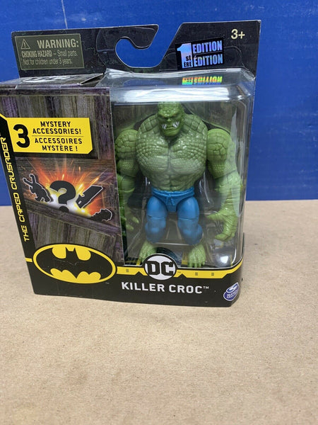 "Spin Master DC Killer Croc 4"" 1st Edition Batman Action Figure Creature Chaos"