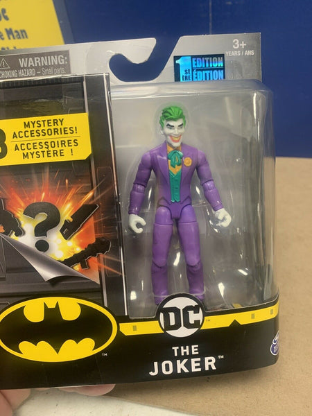"SPIN MASTER DC The Joker - First Edition - 4"" Figure"