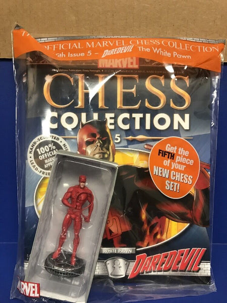 Daredevil # 5 Marvel Comics Chess Piece Magazine White Pawn NIP