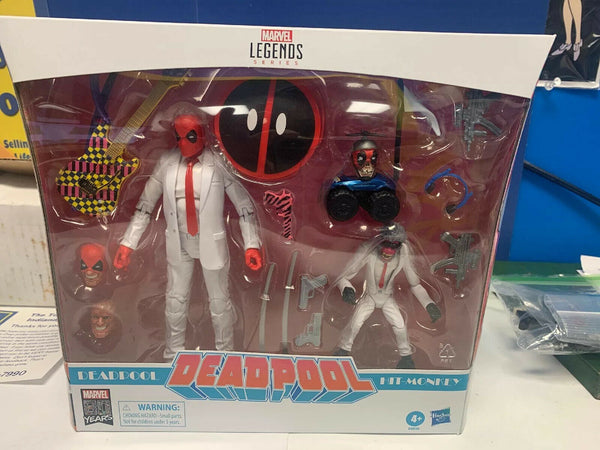 "HASBRO MARVEL LEGENDS 6"" DEADPOOL & HIT MONKEY Exclusive 2 PACK ACTION FIGURE"