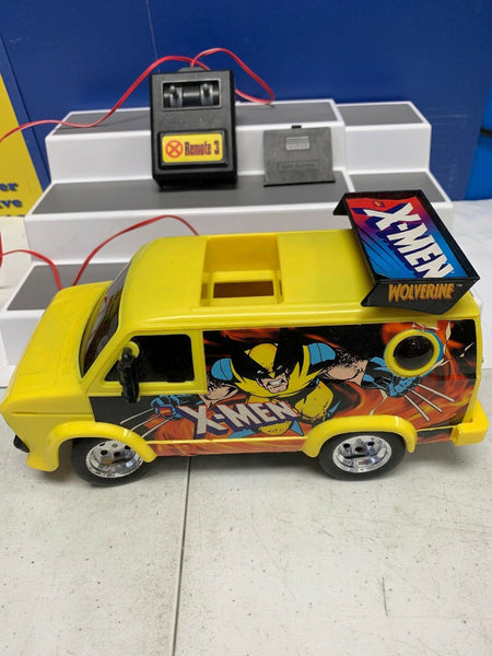Marvel Comics X-Men Wolverine Remote Control Adventure Van Car Toy Race