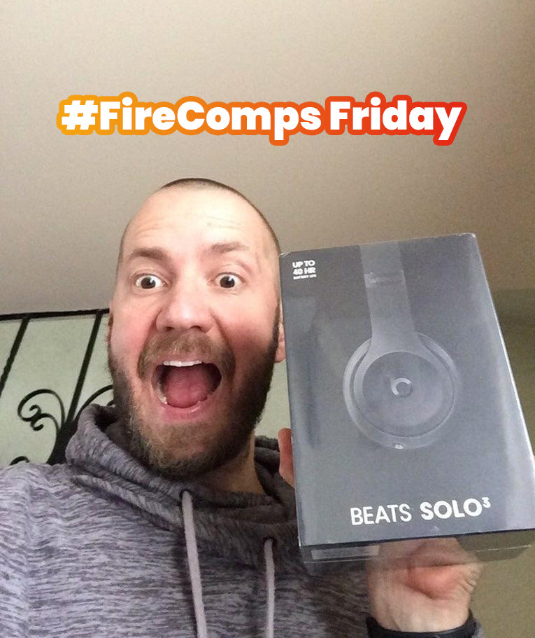 Kirstin Stanbury was the first ever winner of FireComps Friday winning a hoody and £25 website Credit