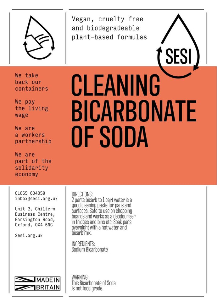 CLEANING Bicarbonate of Soda