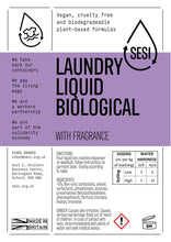 Load image into Gallery viewer, Laundry Liquid BIOlogical FRAGRANCED