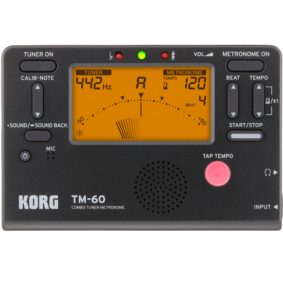 Accordeur/Métronome Korg TM-60