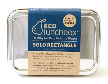 Lunchbox Solo Rectangle - Eco lunchboxes