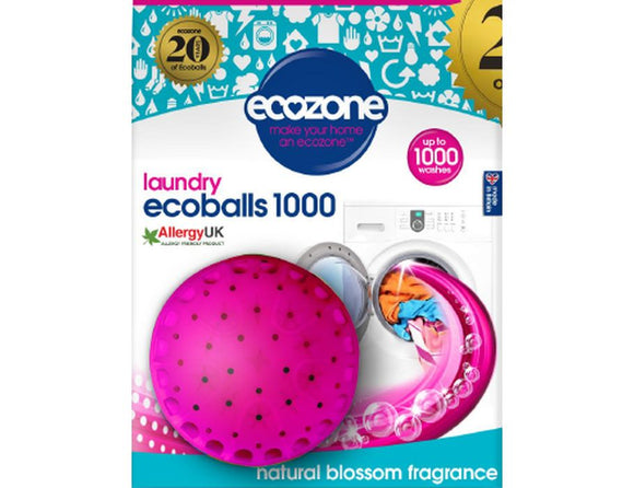 Ecoball XL - 1000 wasbeurten - Natural Blossom - Ecozone