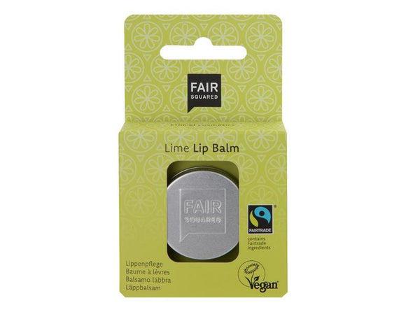 Lip Balm fresh lime 12gr. - Fair Squared