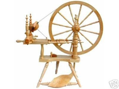 The Polonaise Spinning Wheel By Kromski Clear Finish Free Shipping Bonus