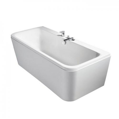 Ideal Standard Tonic II Peninsular D-shape Double Ended Idealform Bath