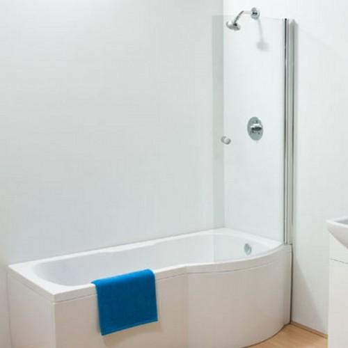 Sommer P Curved Bath Screen