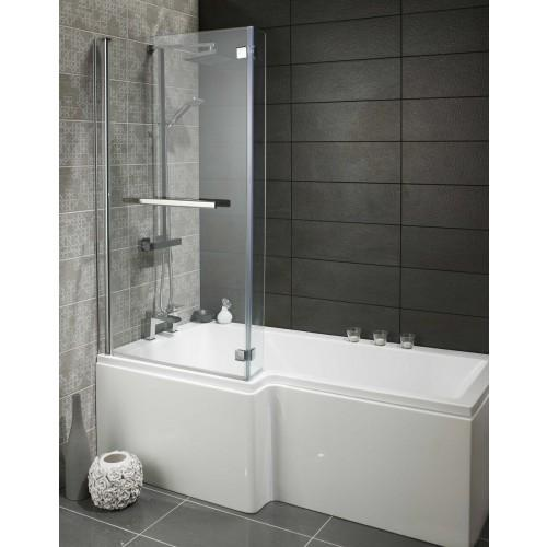 Alliance Skye Square L shaped shower bath Pack Left Hand