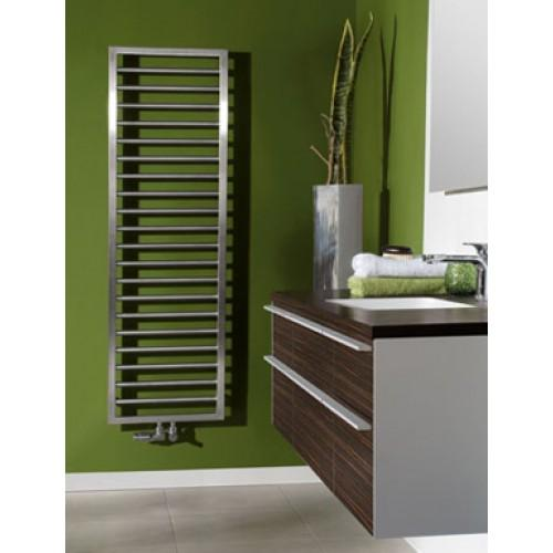 Zehnder Subway Stainless Steel Heated Towel Rail 613 x 450mm