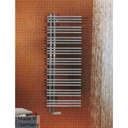 Zehnder Yucca Asymmetrical Heated Towel Rail 872 x 478mm
