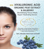 Miracle Moor Hyaluronic Acid, Organic Peat Extract & Bilberry Sheet Face Mask