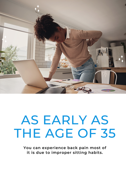 Lower Back Pain develops in an early age