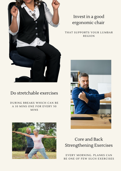 Simple tips to solve back pain due to aging