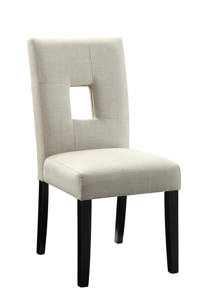 Andenne Transitional Black Dining Chair image