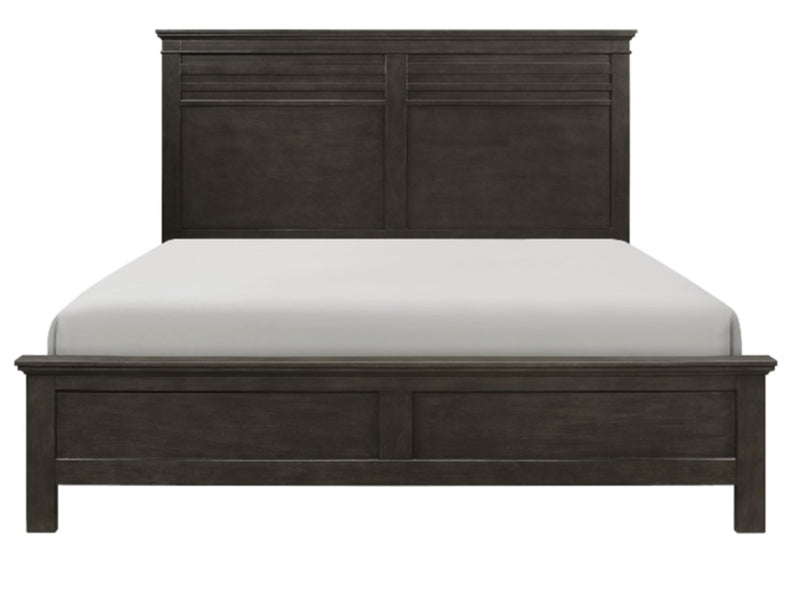 Homelegance Blaire Farm King Panel Bed in Saddle Brown Wood 1675K-1EK* image