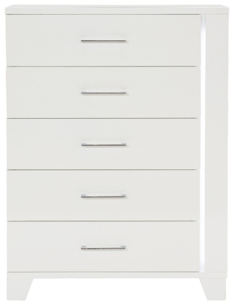 Homelegance Kerren Chest in White 1678W-9 image