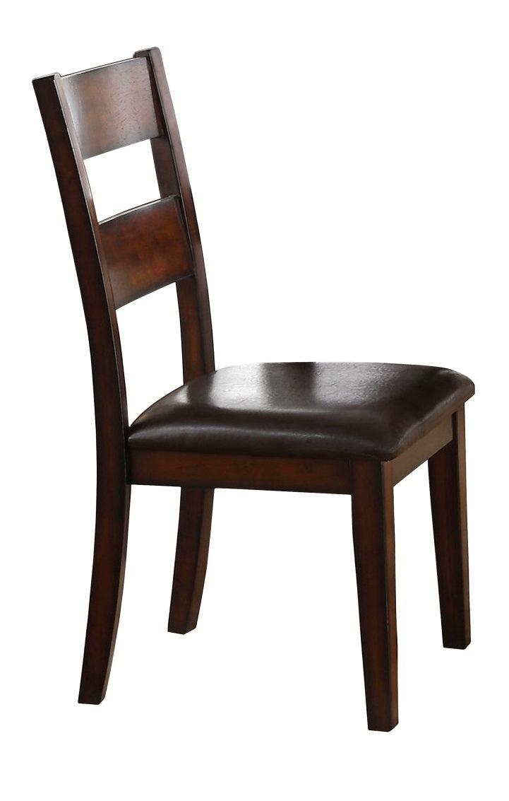 Homelegance Mantello Side Chair in Cherry (Set of 2) image