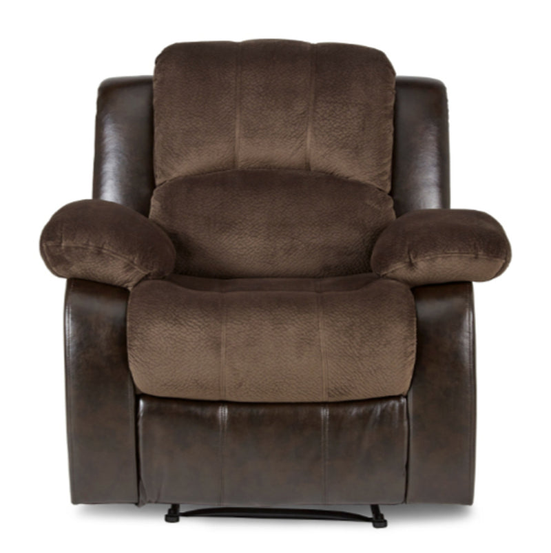 Homelegance Furniture Granley Reclining Chair in Chocolate 9700FCP-1 image