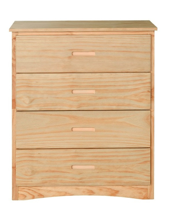 Homelegance Bartly 4 Drawer Chest in Natural B2043-9 image